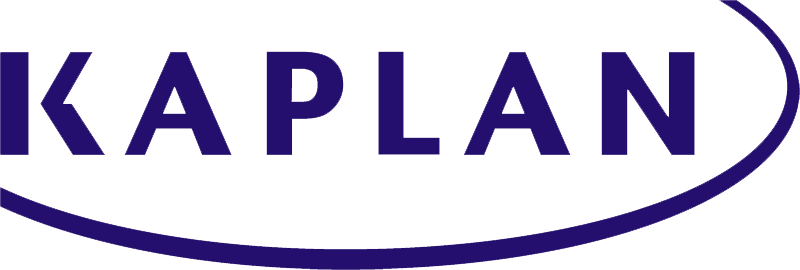 Logo for Kaplan Test Prep with transparent background